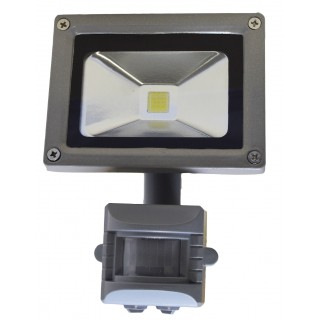 PROIECTOR LED + SENZOR 10W 6400K IP65