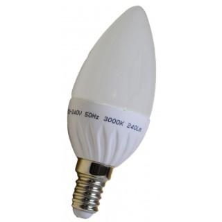 BEC LED E14 Lumanare 3W 6400K
